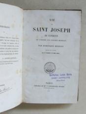Vie de Saint Joseph de Cupertin de l'ordre des Frères Mineurs. - Couverture - Format classique
