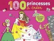 100 princesses à créer - Couverture - Format classique