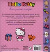 Hello Kitty ; Mon Premier Imagier - 4ème de couverture - Format classique