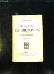 Les Religions Et Les Philosophes Dans L Asie Centrale. Tome 2. - Couverture - Format classique