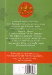 Wilma Tenderfoot t.1 - 4ème de couverture - Format classique