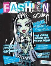 Monster high ; fashion goule Frankie + vernis - Couverture - Format classique