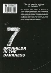 Brynhildr in the darkness T.7 - 4ème de couverture - Format classique
