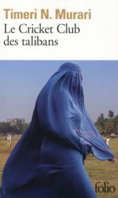 Le cricket club des talibans - Couverture - Format classique