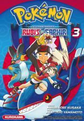 Pokémon ; la grande aventure - Rubis et Saphir T.3 - Couverture - Format classique
