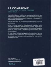 La compagnie ; 160 ans d'histoire de CFAO : 1852-2012 - 4ème de couverture - Format classique