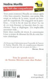 Les enquêtes du commissaire Léon T.2 ; la nuit des coquelicots - 4ème de couverture - Format classique