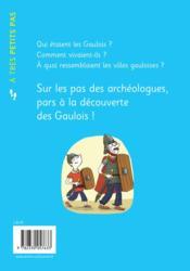 A TRES PETITS PAS ; les Gaulois - 4ème de couverture - Format classique