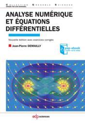 Analyse numérique et équations différentielles - Couverture - Format classique
