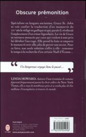 Obscure premonition - 4ème de couverture - Format classique
