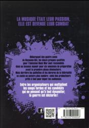 Rock war t.2 ; l'enfer du décor - 4ème de couverture - Format classique