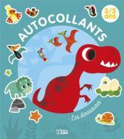 Autocollants 3/5 ans ; les dinosaures - Couverture - Format classique