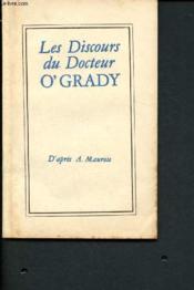 Les discours du Docteur O'Grady - Couverture - Format classique
