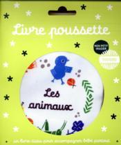Mon imagier doudou ; livre poussette ; les animaux - Couverture - Format classique