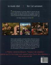 Bosch ; mystère et fantasmagories - 4ème de couverture - Format classique