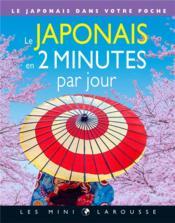 Le japonais en 2 minutes par jour - Couverture - Format classique