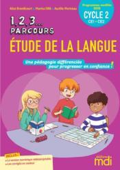 Étude de la langue ; CE1, CE2 ; cycle 2 (édition 2020) - Couverture - Format classique