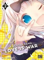 Kaguya-sama : love is war T.2 - Couverture - Format classique