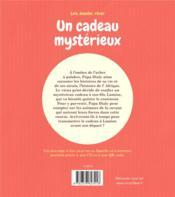 Un cadeau mystérieux - 4ème de couverture - Format classique