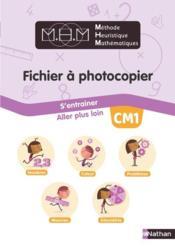 Mhm - fichier a photocopier cm1 - Couverture - Format classique