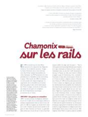 Mont-Blanc express ; l'invention du tourisme alpin ; Saint-Gervais-Vallorcine 1908-2008 - Couverture - Format classique