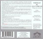 Portrait du gulf stream ; éloge des courants - 4ème de couverture - Format classique