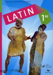 Latin ; 1ère ; livre de l'élève (édition 2008) - Couverture - Format classique