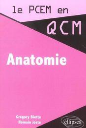 Anatomie - Intérieur - Format classique