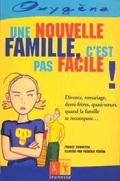Une Nouvelle Famille, C'Est Pas Facile ! - Intérieur - Format classique