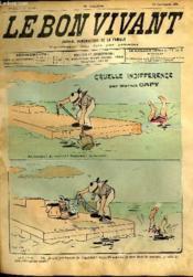 Le bon vivant n°359 - Cruelle indifférence - Couverture - Format classique