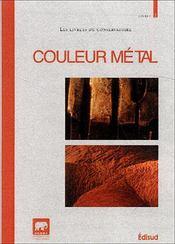 Couleur metal - Intérieur - Format classique