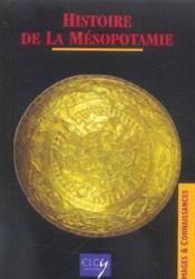 Histoire De La Mesopotamie - Couverture - Format classique
