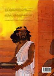 Sur les terres d'Horus t.6 ; Hori ou le courroux d'Istar - 4ème de couverture - Format classique