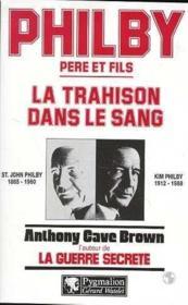 Philby Pere&Fils Trahison - Couverture - Format classique