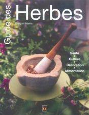 Guide Des Herbes - Intérieur - Format classique