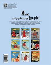 Les aventures de Loupio T.7 ; les faucons et autres récits - 4ème de couverture - Format classique