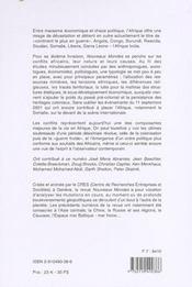 Guerres d'afrique - revue nouveaux mondes n 10 - 4ème de couverture - Format classique