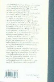 Le pere diogene - 4ème de couverture - Format classique