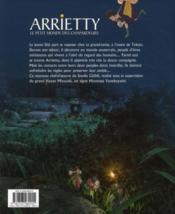 Arrietty ; le petit monde des chapardeurs - 4ème de couverture - Format classique