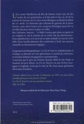La clef de Smyrne - 4ème de couverture - Format classique