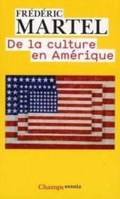 De la culture en Amérique - Couverture - Format classique