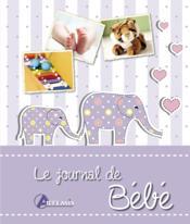 Le journal de bébé - Couverture - Format classique