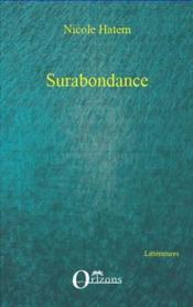 Surabondance - Couverture - Format classique