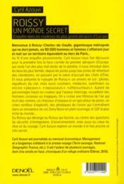 Roissy, un monde secret ; enquête dans les coulisses du plus grand aéroport d'Europe - 4ème de couverture - Format classique