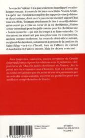 Catholiques et juifs ; cinquante ans après Vatican II ; où en sommes-nous ? - Couverture - Format classique