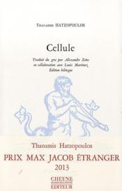 Cellule - Couverture - Format classique