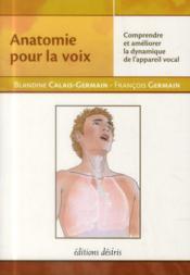 Anatomie pour la voix - Couverture - Format classique