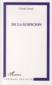 De la suspicion - Couverture - Format classique
