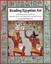 Reading egyptian art (paperback) - Couverture - Format classique