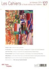 Cahiers Du Musee National D'Art Moderne N.127 - 4ème de couverture - Format classique